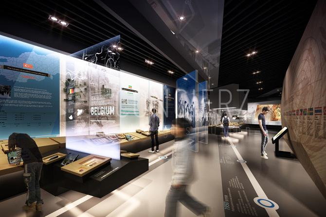 D Coform Exhibition : Un peace memorial museum proposal dconcierz